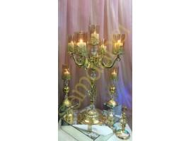 Beş Kollu Decor King Şamdan